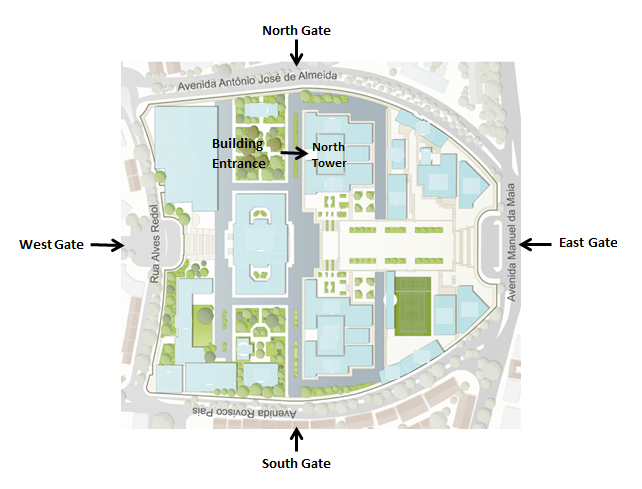 IST Campus Map